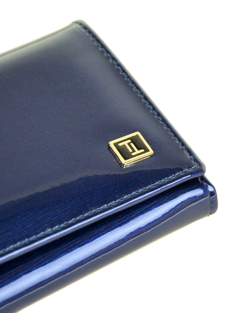 Кошелек Gold кожа BRETTON W1-V dark-blue - фото 3