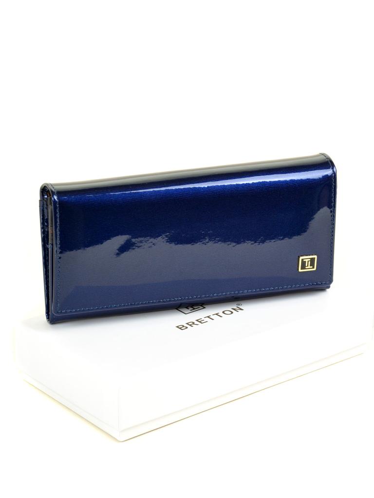 Кошелек Gold кожа BRETTON W1-V dark-blue