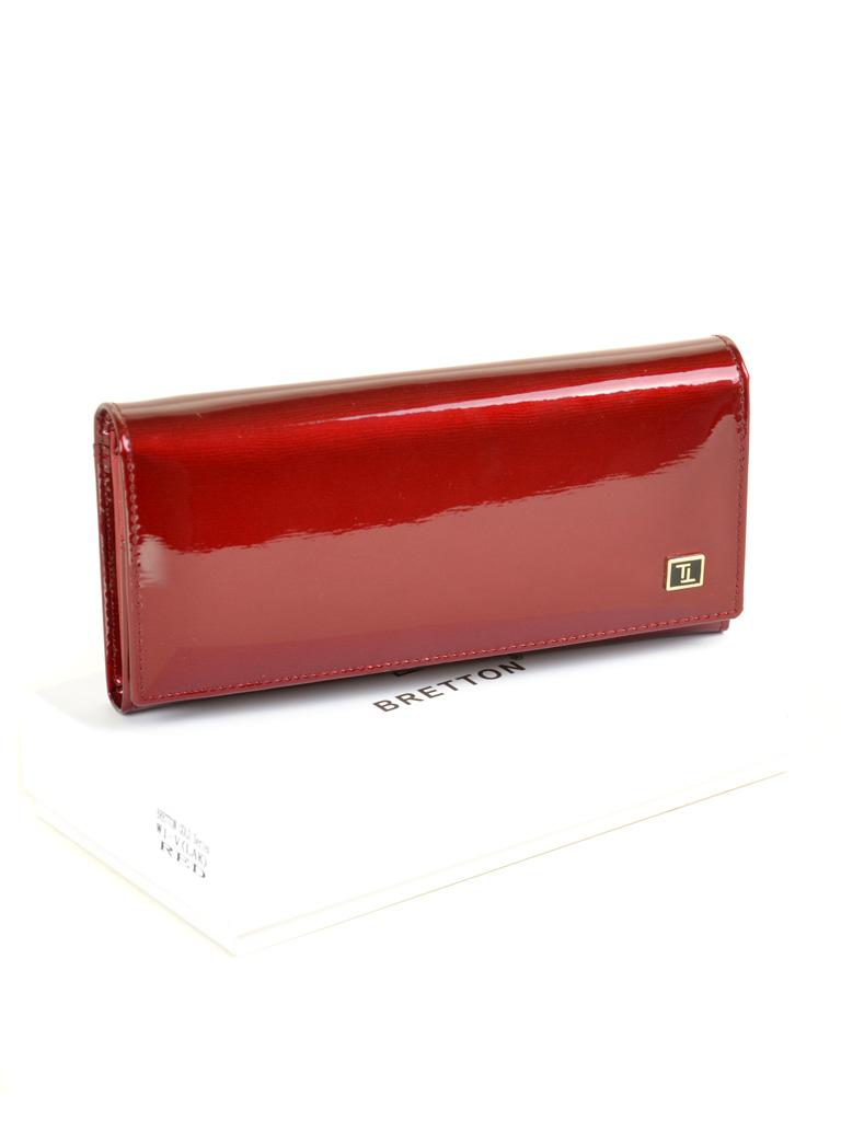 Кошелек Gold кожа BRETTON W1-V red