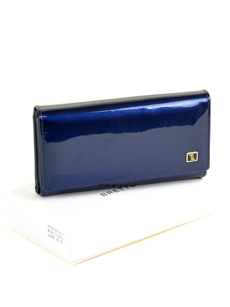 Кошелек Gold кожа BRETTON W46 dark-blue