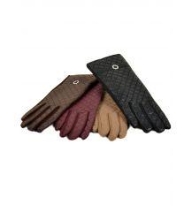 Перчатка Женская Баллон-стрейч F11 ПЛ мод-4 color mix Распродажа