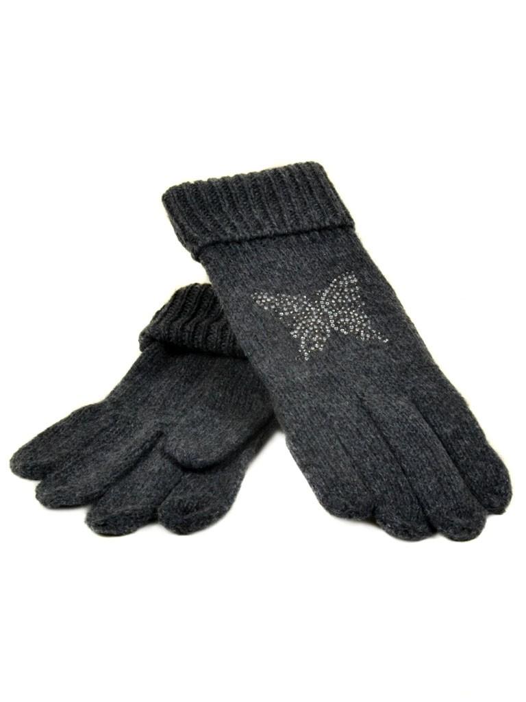 Перчатка Женская вязка K-180B тм.сер