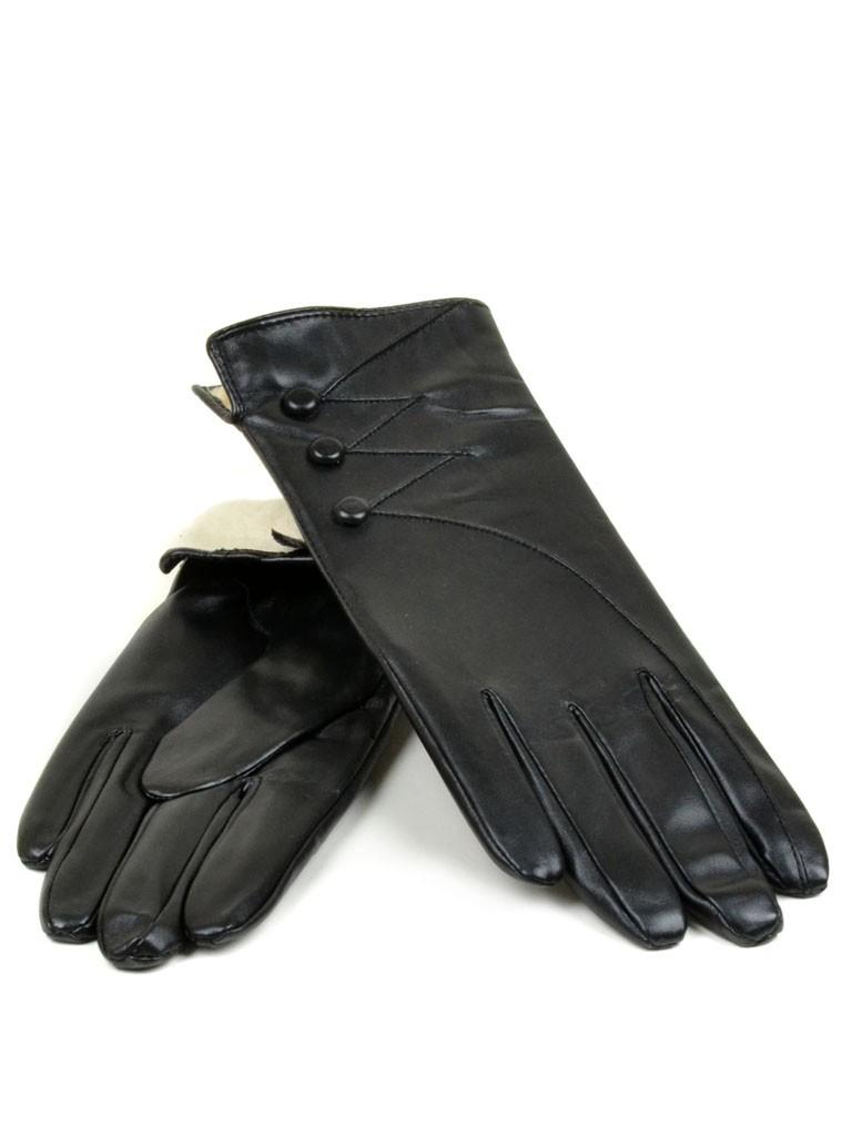 Перчатка Женская иск-кожа МариStyle Д-к(ПЛ) F17-(0016) Распродажа