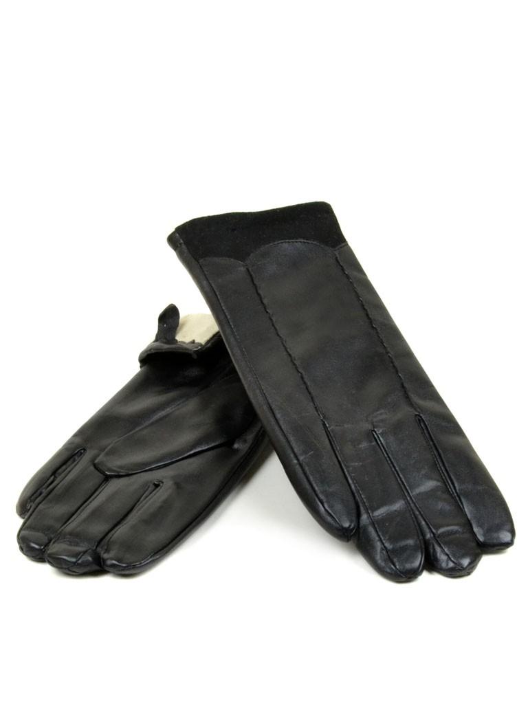 Перчатка Женская иск-кожа МариStyle Д-к(ПЛ) F17-(12030) Распродажа