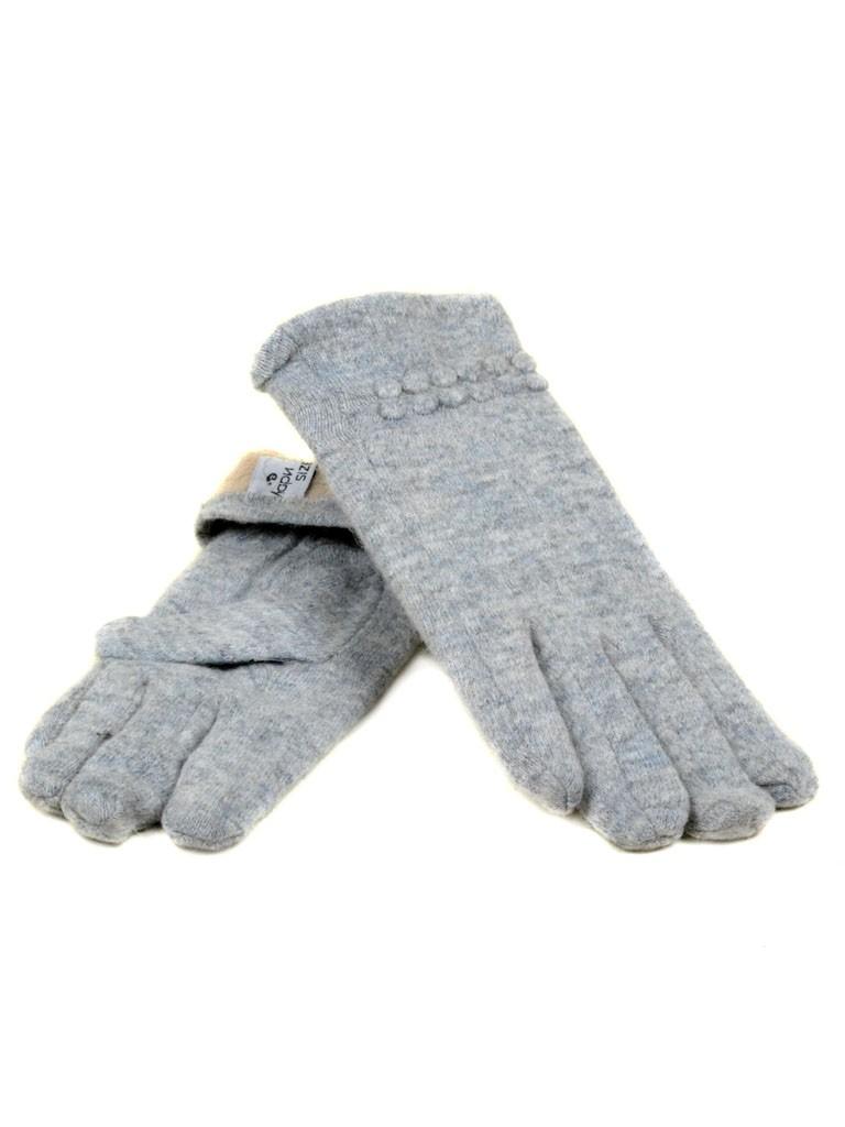 Перчатка Женская кашемир МариFashion (ПЛ) F12/1 мод02 сер