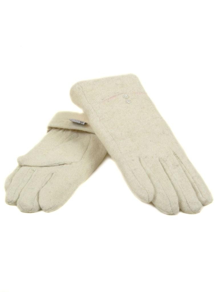 Перчатка Женская кашемир МариFashion (ПЛ) F12/1 мод036 беж