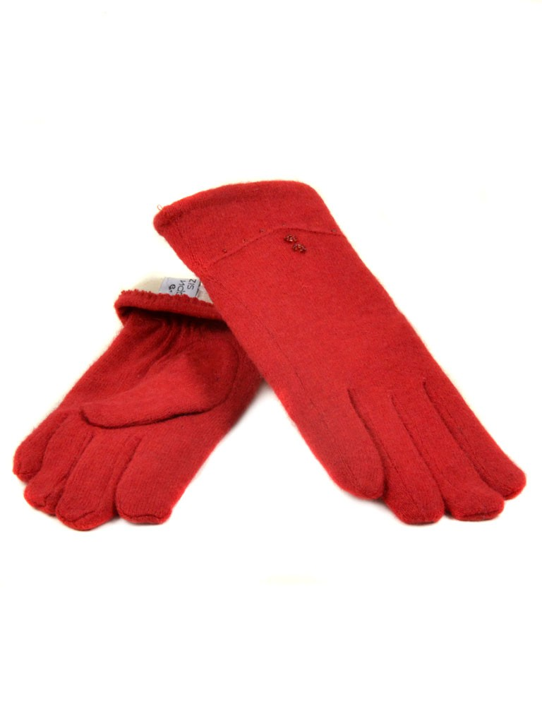 Перчатка Женская кашемир МариFashion (ПЛ) F12/1 мод036 красн