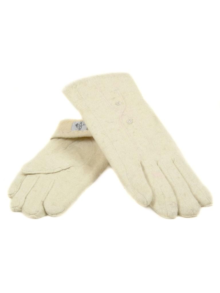 Перчатка Женская кашемир МариFashion (ПЛ) F12/1 мод200 беж