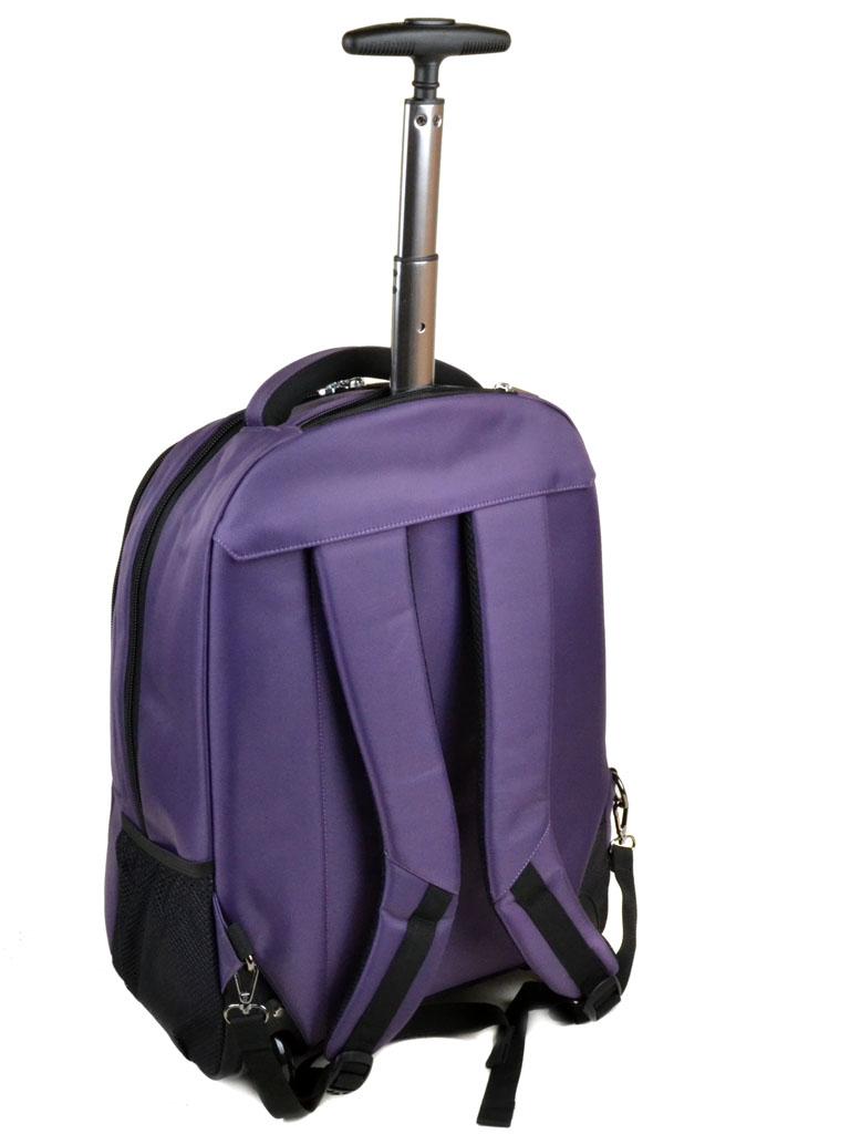 Дорожная Сумка на колесах нейлон Power In Eavas 1877-20 violet