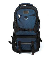 Рюкзак Туристический нейлон Royal Mountain 7913 black-blue
