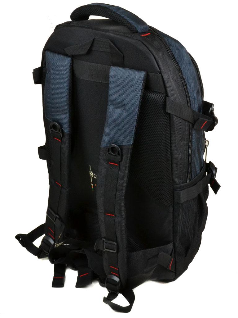 Рюкзак Городской нейлон Power In Eavas 8706 black-blue