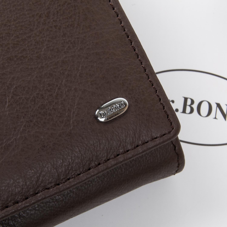 Кошелек Classic кожа DR. BOND W501 coffee - фото 3