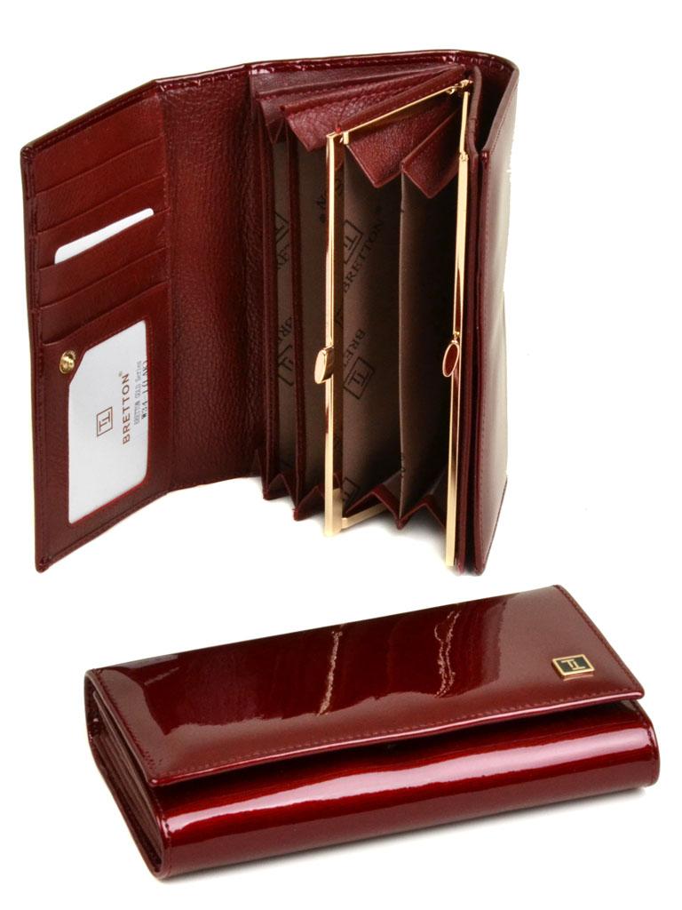 Кошелек Gold кожа Bretton W34-1 red