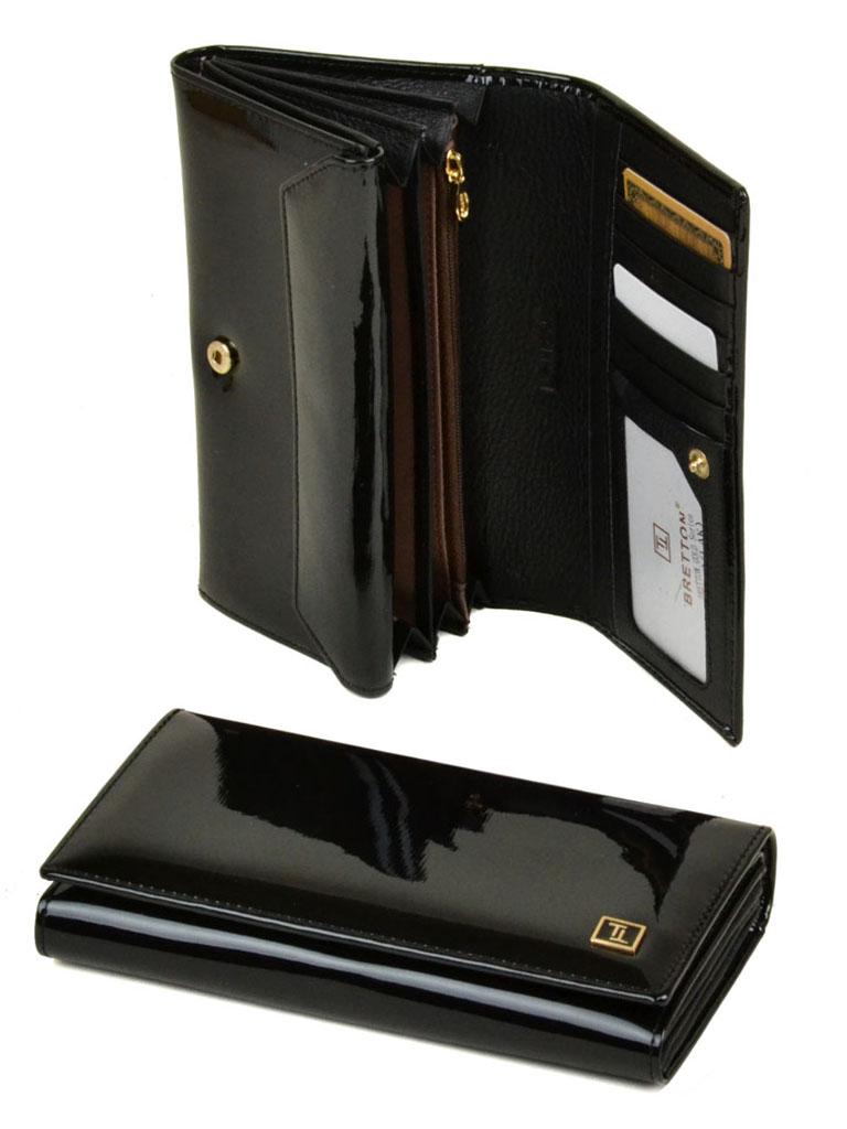 Кошелек Gold кожа Bretton W412 black
