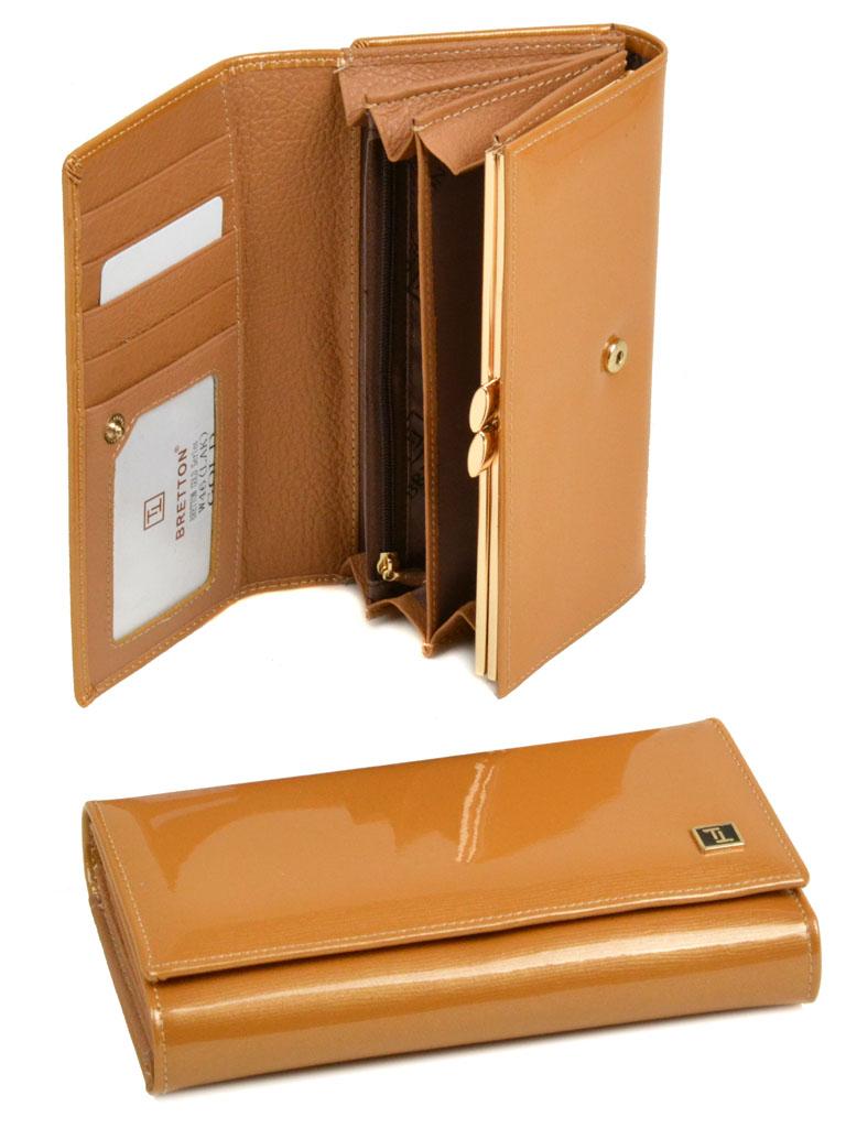 Кошелек Gold кожа Bretton W46 gold