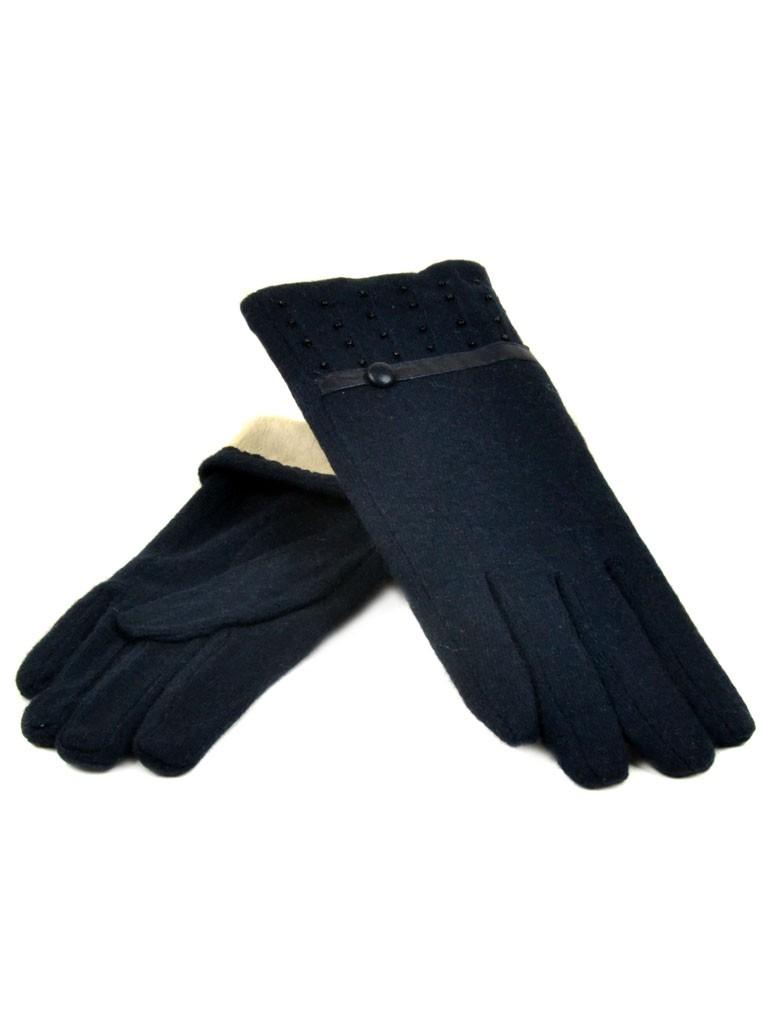 Перчатка Женская кашемир МариFashion (ПЛ) дор F12 мод5 тм.синий