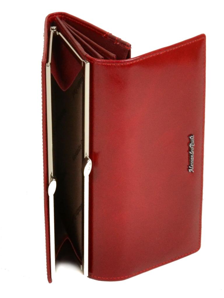 Кошелек ITA кожа Alessandro Paoli W1 red
