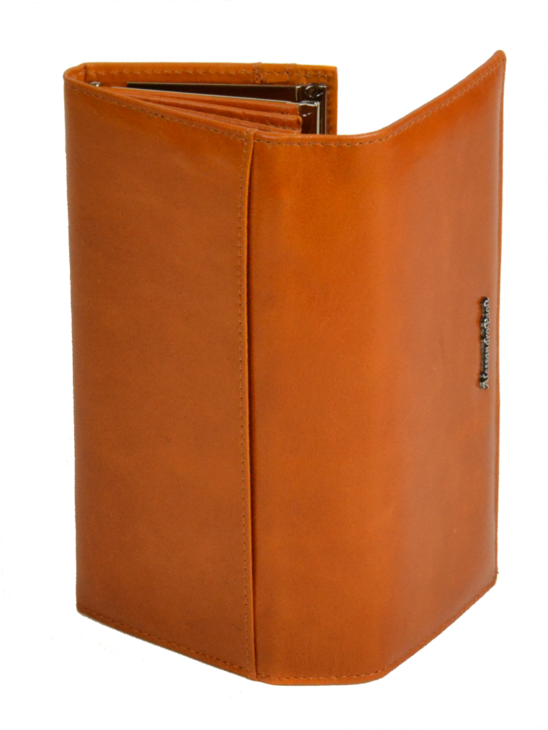 Кошелек ITA кожа Alessandro Paoli W1-V orange