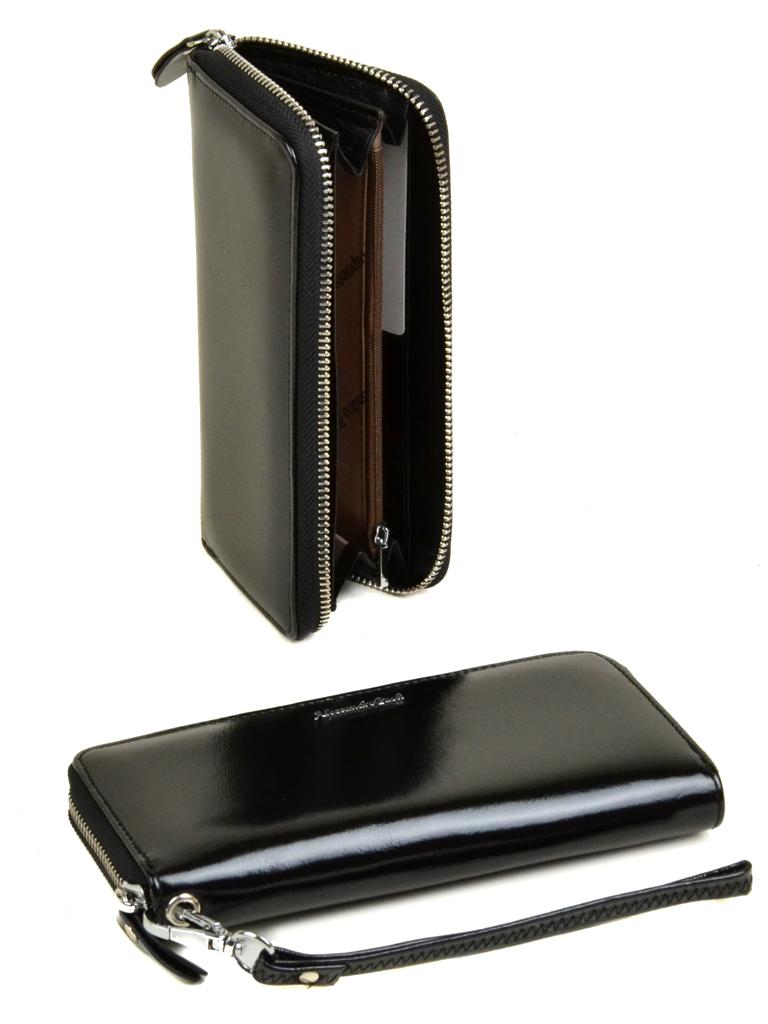 Кошелек ITA кожа Alessandro Paoli W38 black