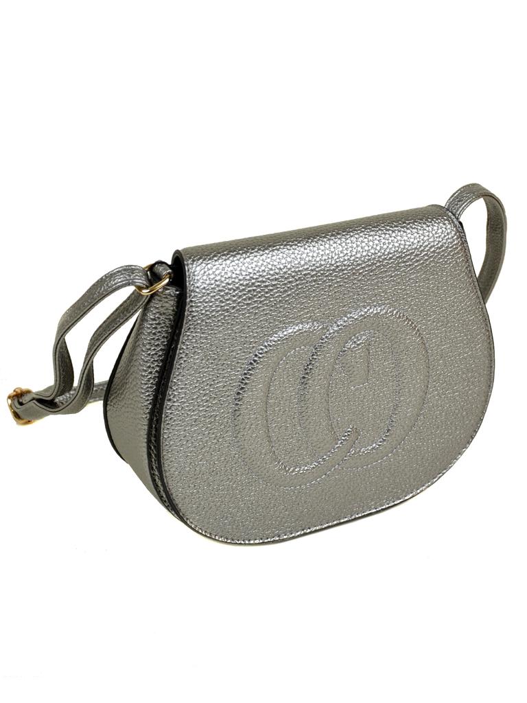 Сумка Женская Клатч иск-кожа 8-01 A1477 silver