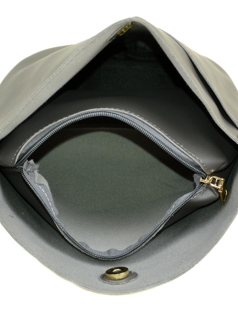 Сумка Женская Клатч иск-кожа 08-3 170 grey - фото 4