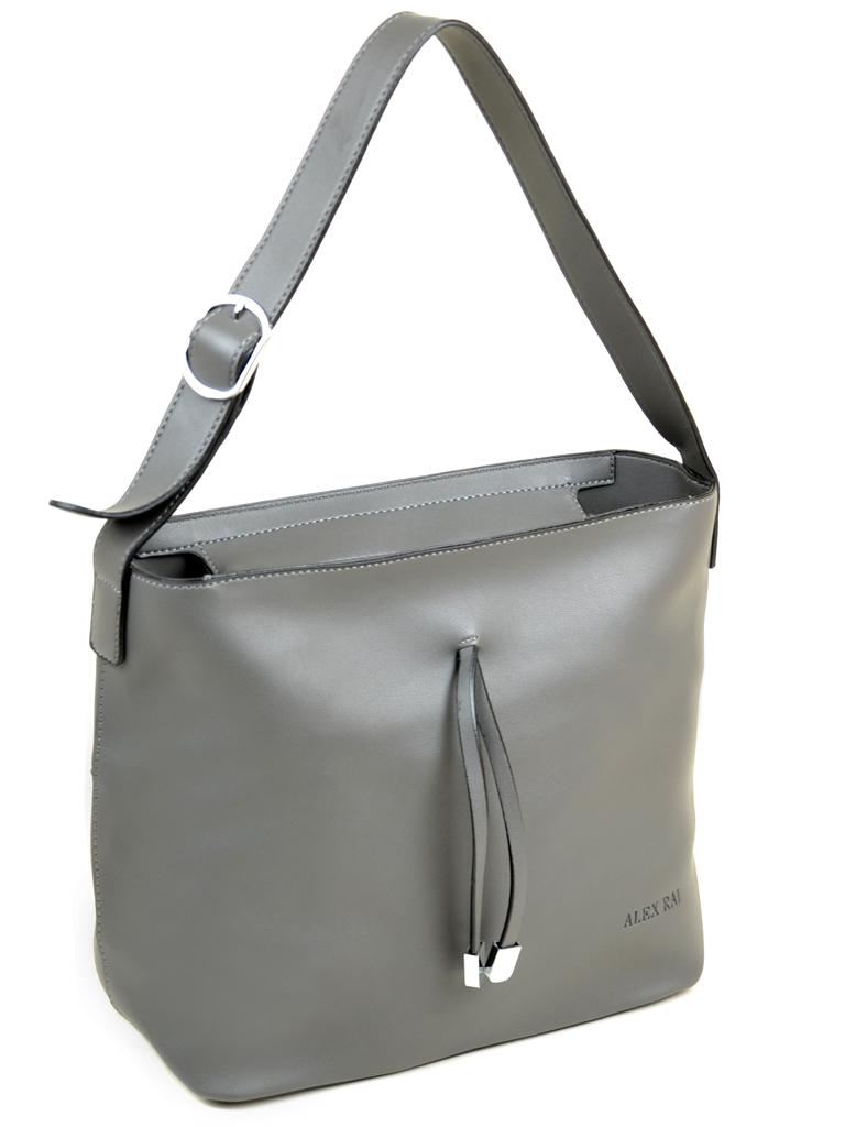 Сумка Женская Классическая иск-кожа Alex Rai 09-1 7500 grey