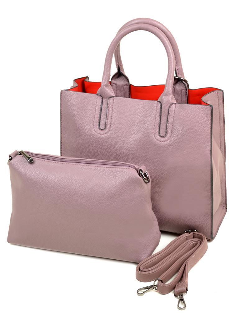 Сумка Женская Классическая иск-кожа Alex Rai 09-1 C-421 pink