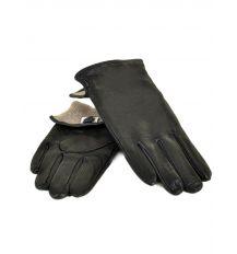Перчатка Мужская кожа M22/17 мод1 black Шерсть