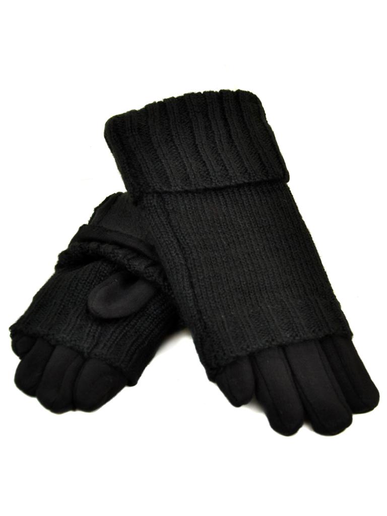 Перчатка Женская стрейч МариClassic F21/17 мод2 black