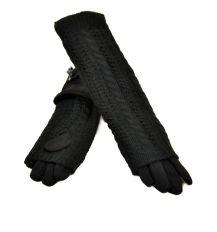 Перчатка Женская стрейч F21/2-17 40см black Распродажа