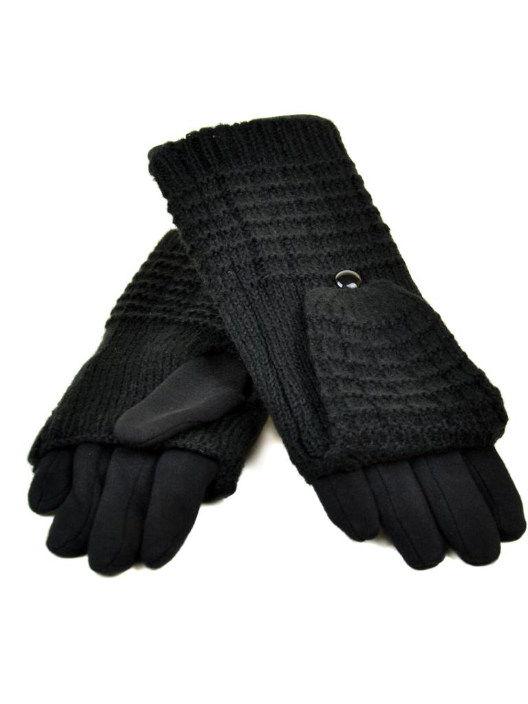 Перчатка Женская стрейч МариFashion F21-1/17 мод1 black