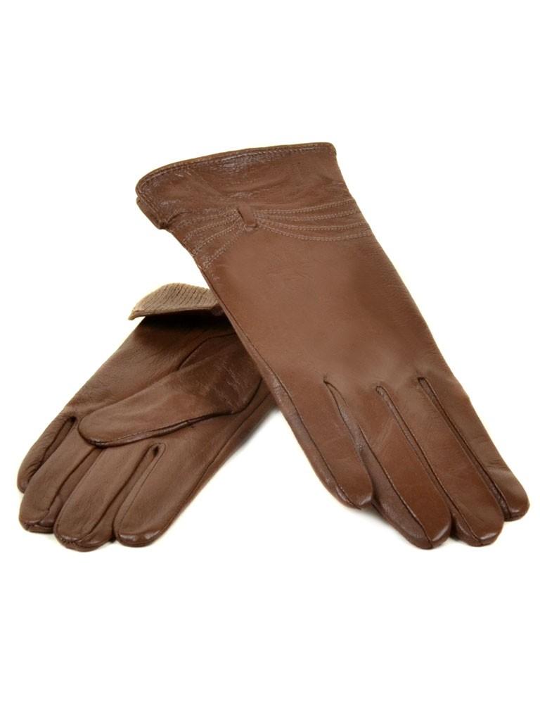Перчатка Женская кожа МариClassic (Ш) F23 мод5 кор st15