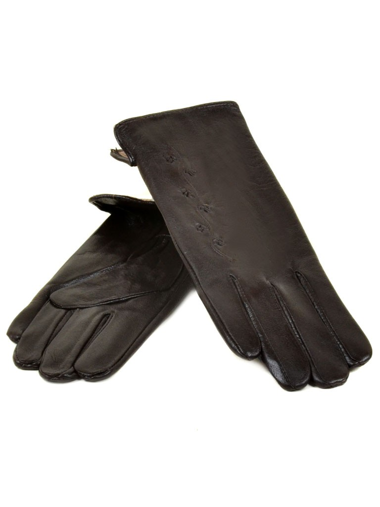 Перчатка Женская кожа МариClassic (Ш) F23 мод6 т.кор st11