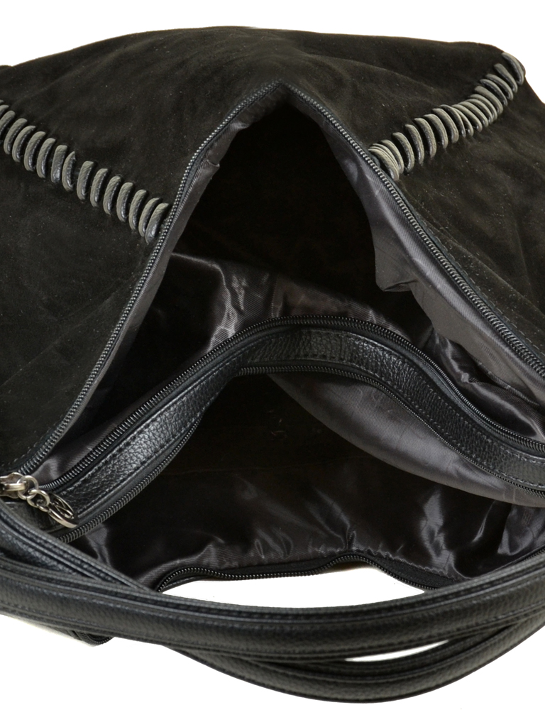 Сумка Женская Классическая замш Alex Rai 09-3 А653 black