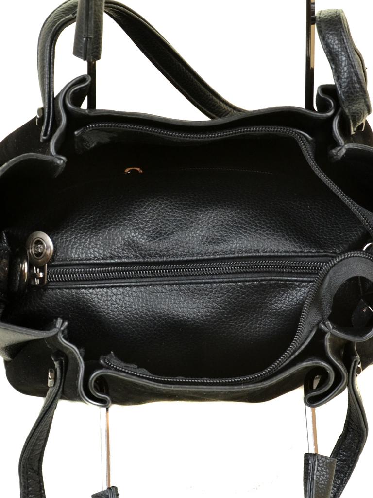 Сумка Женская Классическая замш Alex Rai 09-3 А658 black