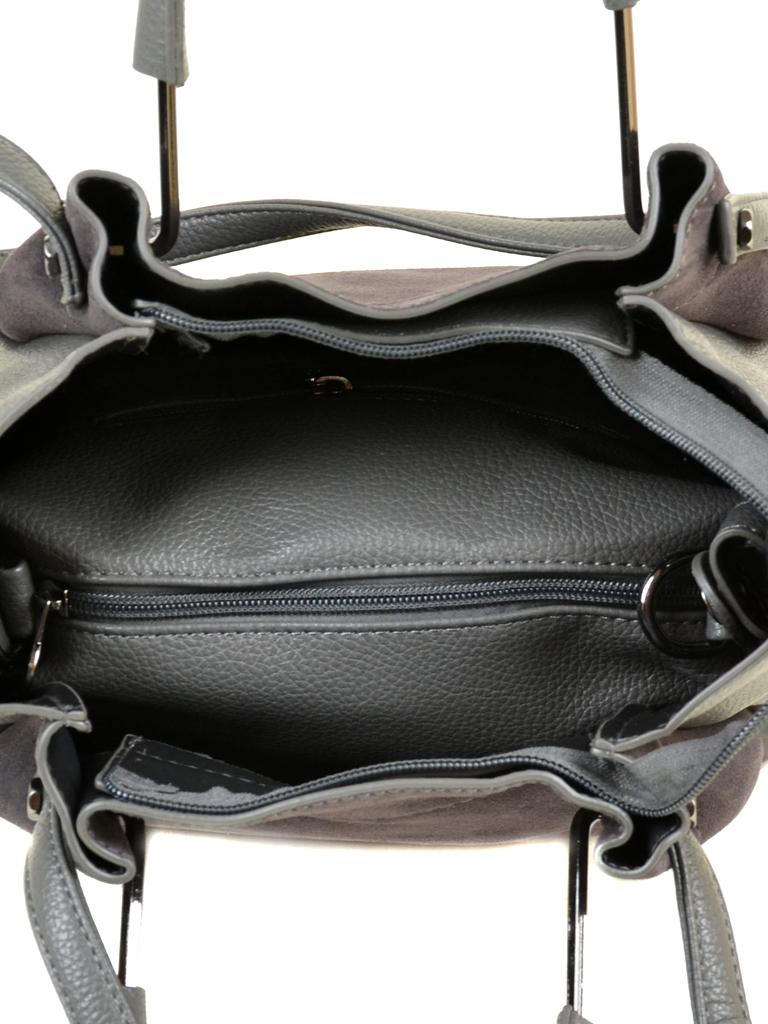 Сумка Женская Классическая замш Alex Rai 09-3 А658 grey