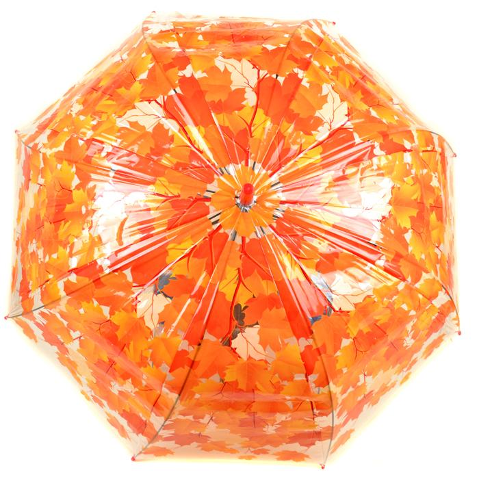 Зонт Трость Женская полиэстер 023 orange