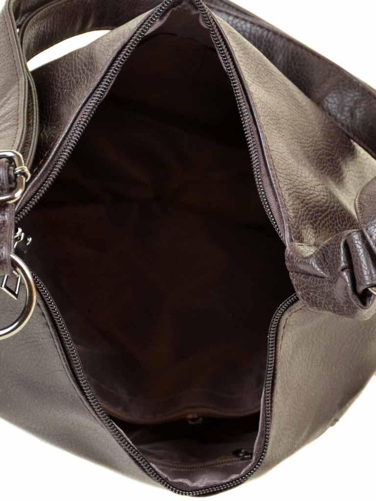 Сумка Женская Классическая иск-кожа 010-1 89705 brown - фото 4