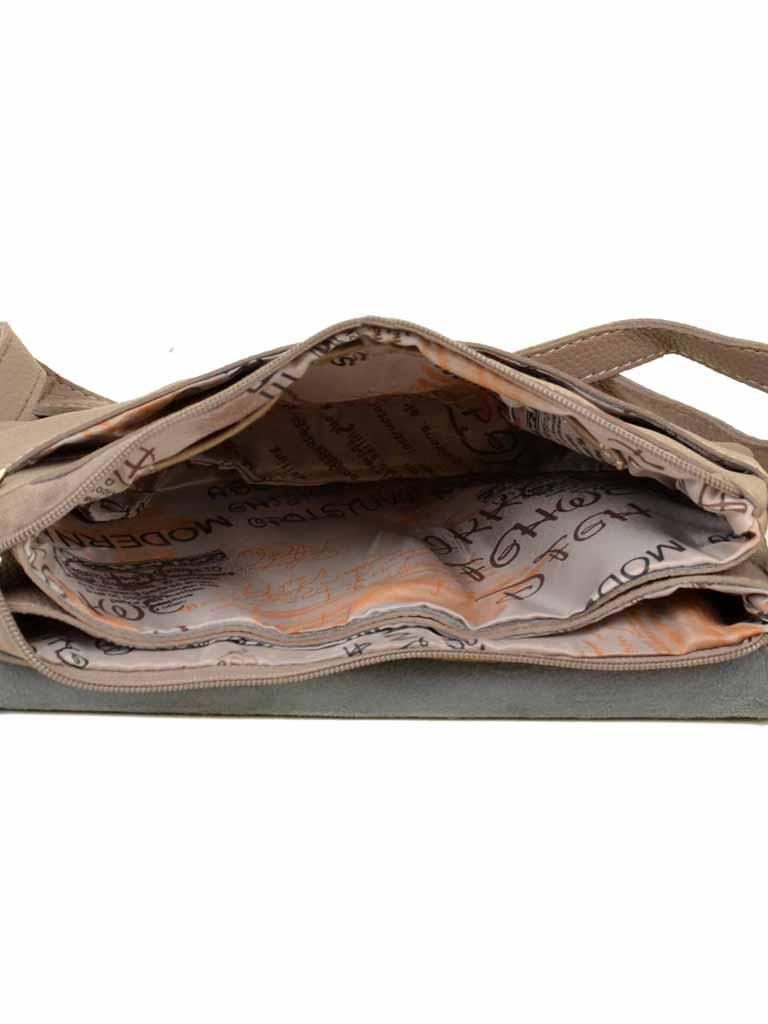 Сумка Женская Клатч иск-кожа 010-1 6714 khaki