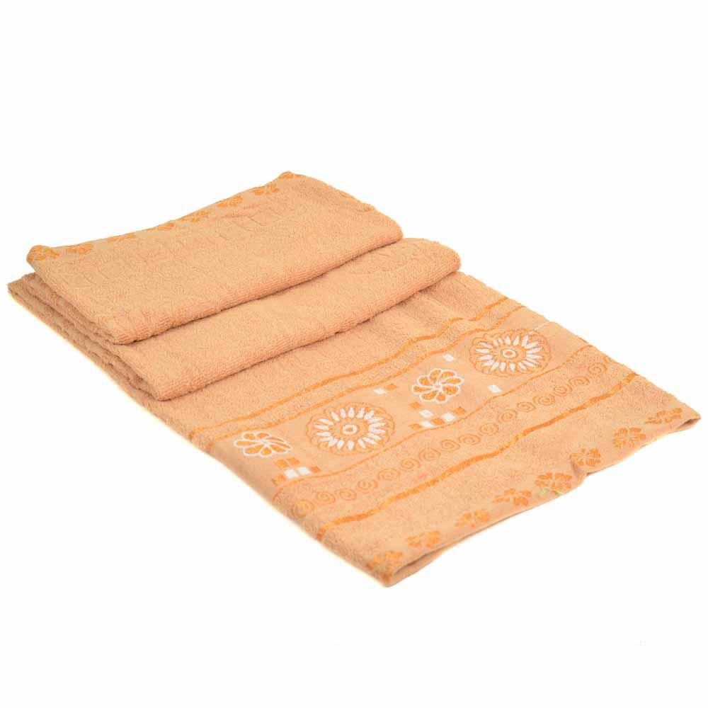 Полотенце Банное махра 70185-1 beige