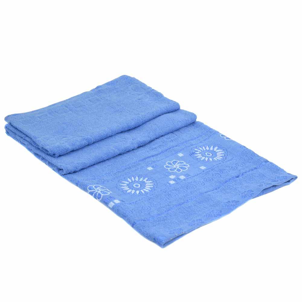 Полотенце Банное махра 70185-1 blue