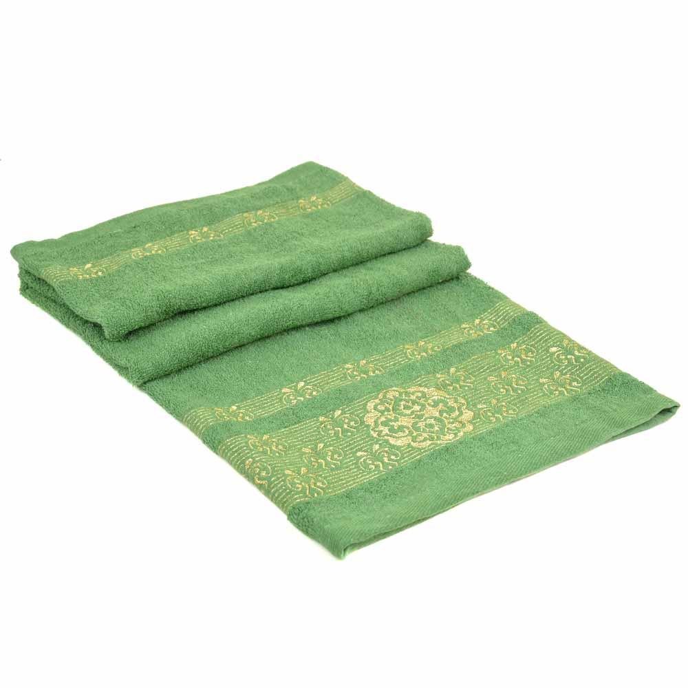 Полотенце Банное махра 70188-1 green
