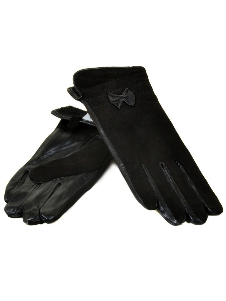 Перчатка Женская Шерсть-Стрейч МариClassic F3 ПЛ мод-1 black