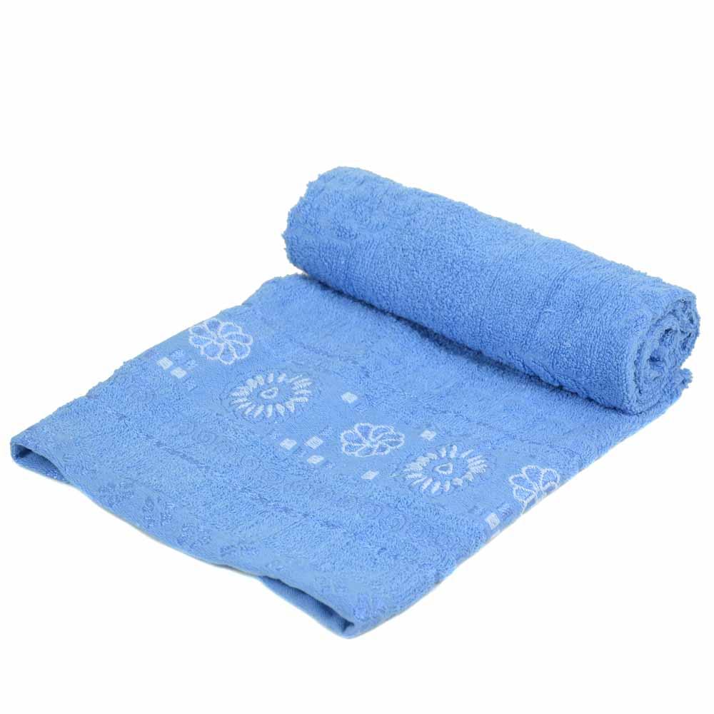 Полотенце Кухонное махра 70185 blue