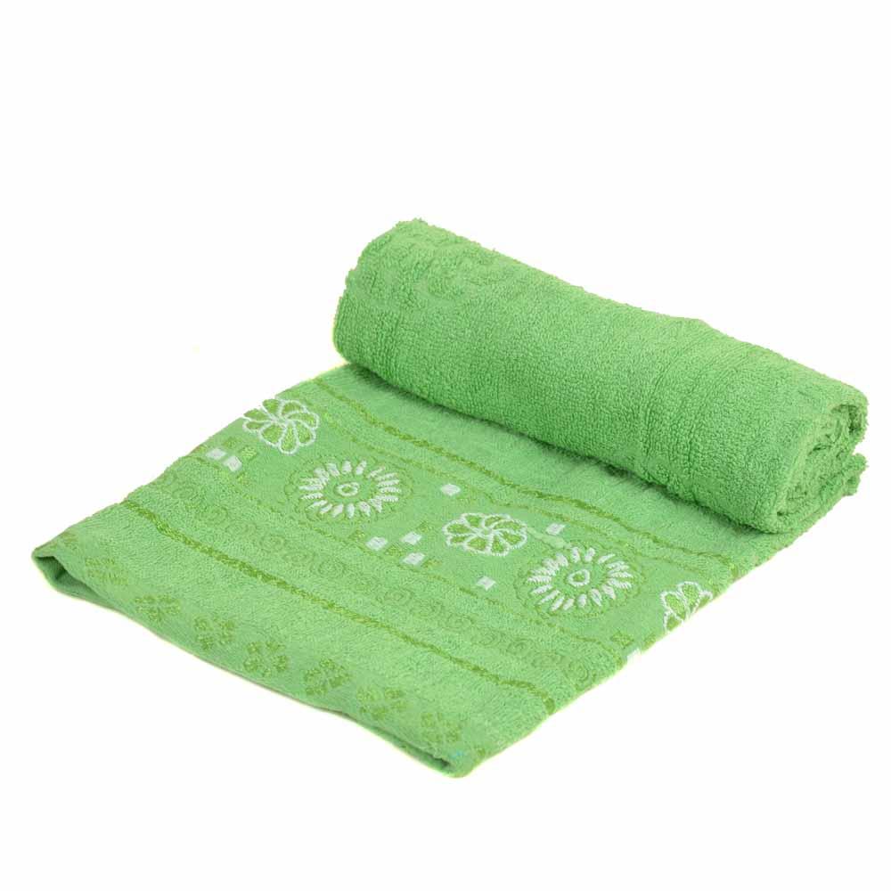 Полотенце Кухонное махра 70185 green