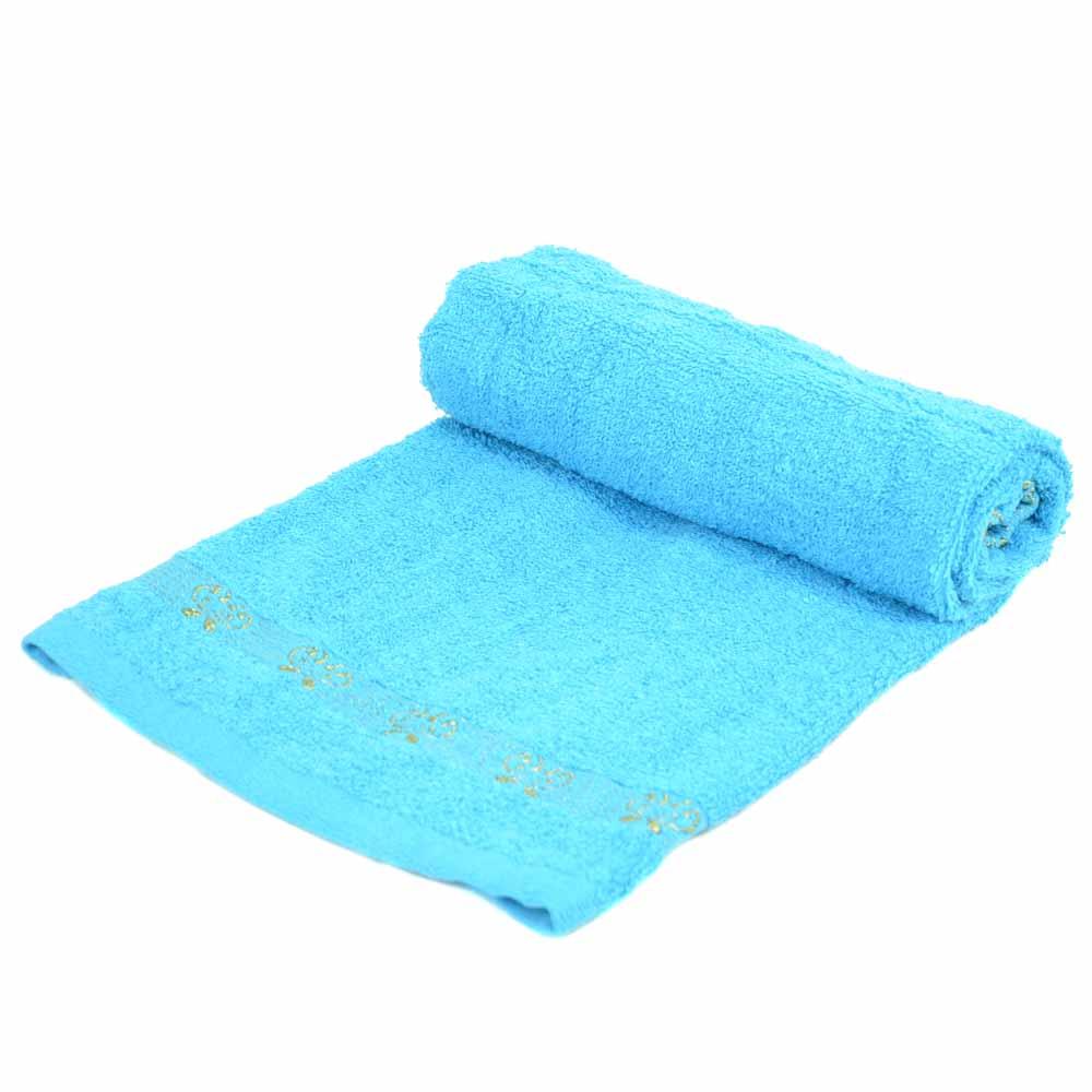 Полотенце Лицевое махра 70188 blue