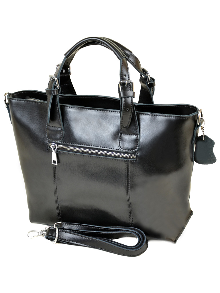 Сумка Женская Классическая кожа PODIUM 012-1 1025 black