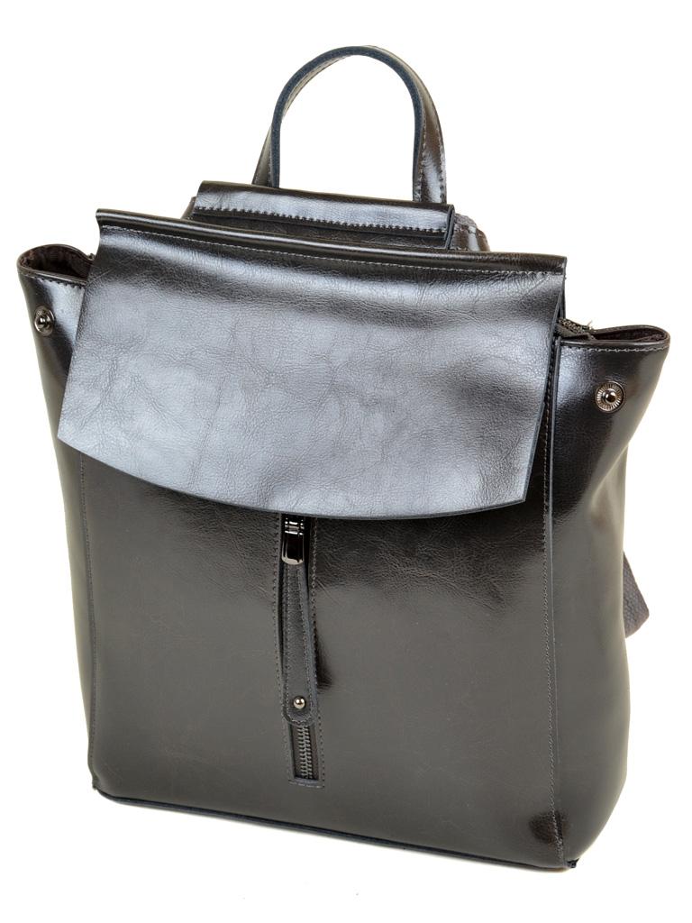 Сумка Женская Рюкзак кожа PODIUM 012-1 3206 grey