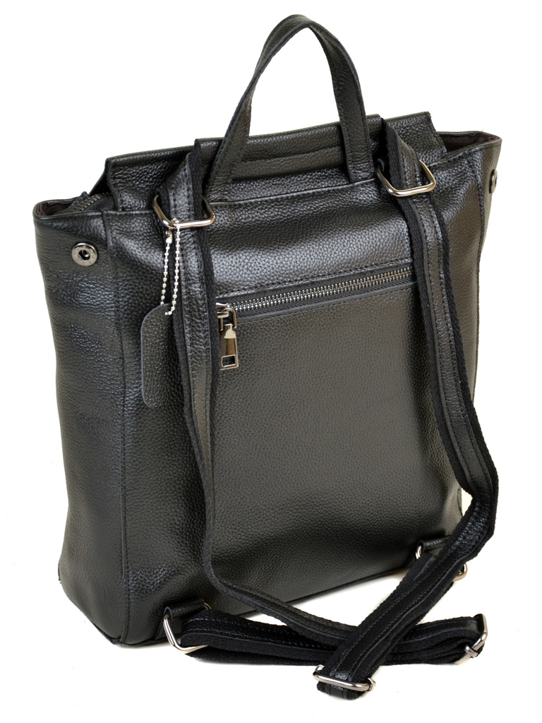 Сумка Женская Рюкзак кожа PODIUM 012-1 3206-9 black