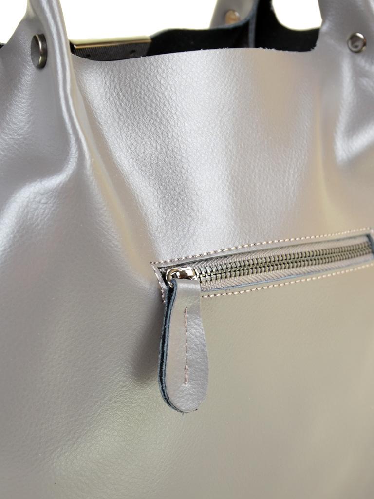 Сумка Женская Классическая кожа PODIUM 012-1 609 grey